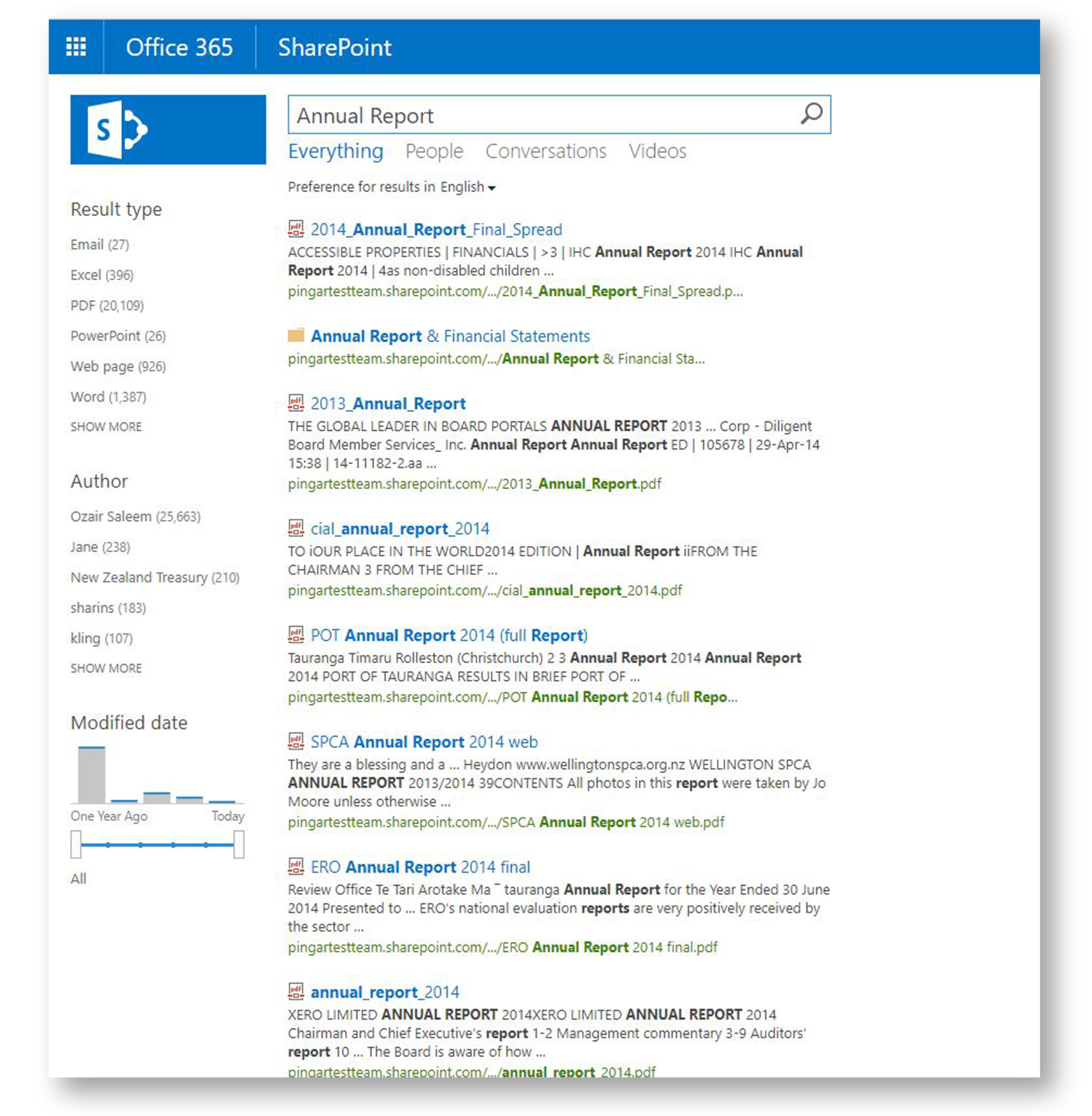 Categories on Sharepoint